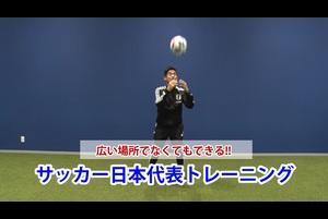 サッカー日本代表トレーニング vol.02 GK編 広い場所でなくてもできるトレーニング!!