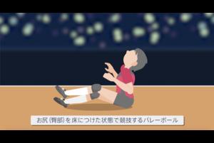 【東京パラリンピック・競技紹介】シッティングバレーボール