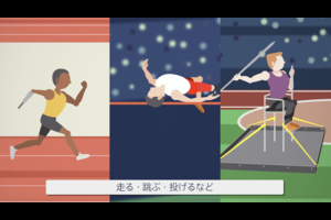 東京パラリンピックで実施される陸上の紹介動画です。(動画提供:時事通信社)