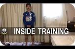 村田選手が家で行っているトレーニングを紹介!!<br /> ぜひみなさんもチャレンジしてみてください!