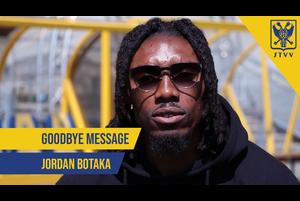 【シント=トロイデンVV】DFジョーダン・ボタカ選手 お別れのメッセージ