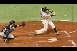 【ベースボールLIVE】和田さんのために・・・松田、山本由伸から執念のバット折りタイムリー!<4/14 ソフトバンク vs. オリックス>