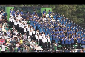 5月3日(木・祝)ファイターズ鎌ケ谷スタジアムにて、2017度の第65回全日本吹奏楽コンクールで8回目の金賞を受賞した松戸市立第四中学校吹奏楽部の皆さんによるパフォーマンスが行われました!