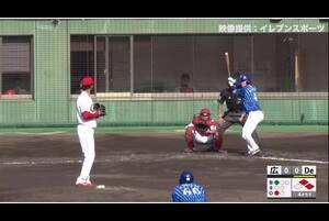【4回表】伊藤裕季也、タイムリーツーベース! 11/24広島 VS DeNA フェニックスリーグ