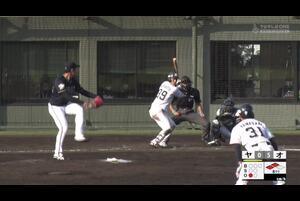 【8回裏】宮本丈、タイムリーヒット! 11/26ヤクルト VS オリックス フェニックスリーグ