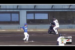 【1回裏】ヤクルト1点目! 11/23ヤクルトvsDeNA フェニックスリーグ