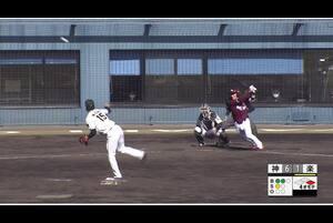 【4回表】ダブルプレー! 11/29 阪神 vs 楽天 フェニックスリーグ