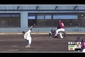 【3回表】西純矢、奪三振! 11/29 阪神 vs 楽天 フェニックスリーグ