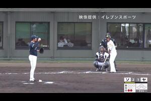【7回裏】佐藤直樹、ホームラン! 11/19ソフトバンク VS ヤクルト フェニックスリーグ