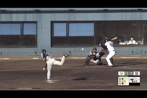 【8回裏】小林珠維、センターへのタイムリーヒット! 11/28 ソフトバンク VS 巨人 フェニックスリーグ