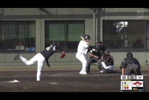 【5回裏】今井順之助、レフトへのタイムリーヒット!11/24日本ハムvsソフトバンク フェニックスリーグ