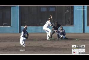 【5回裏】三森大貴のライトスタンドへのHR! 11/21ソフトバンクvs西武 フェニックスリーグ