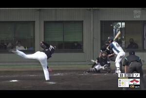【8回裏】パスボール、日本ハム勝ち越し!11/24日本ハムvsソフトバンク フェニックスリーグ