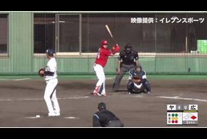 【5回表】中尾輝、奪三振! 11/28 ヤクルト VS 広島 フェニックスリーグ