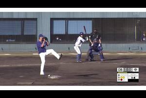 【8回裏】石垣のファインプレー 11/13 DeNAvs中日 フェニックスリーグ
