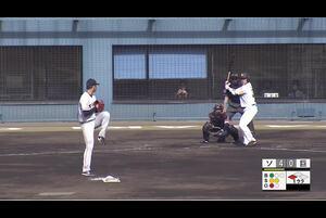 【1回裏】ソフトバンク5点目! 11/28 ソフトバンク VS 巨人 フェニックスリーグ