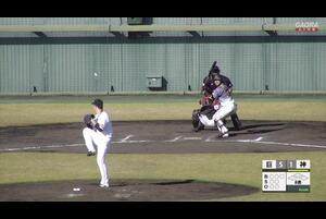 【8回表】長坂のヒット!猛打賞  11/13巨人vs阪神 フェニックスリーグ