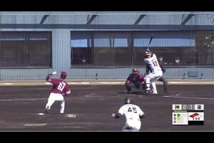 【1回裏】小野寺暖、センターへの同点タイムリー! 11/29 阪神 vs 楽天 フェニックスリーグ