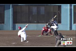 【7回表】山田遥楓、同点タイムリー! 11/28 楽天 VS 西武 フェニックスリーグ