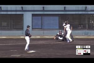 【4回裏】佐藤のタイムリーヒット! 11/12ソvsロ フェニックスリーグ