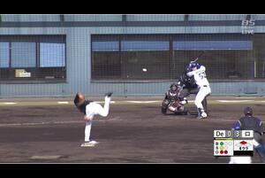 【4回裏】細川成也、レフトへのタイムリーヒット!  11/27 DeNA VS ロッテ フェニックスリーグ