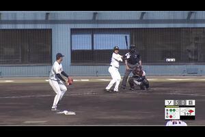 【1回裏】谷川原健太、ライトスタンドへの2ランHR! 11/28 ソフトバンク VS 巨人 フェニックスリーグ