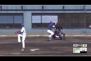 【4回表】根尾の勝ち越しHR! 11/13 DeNAvs中日 フェニックスリーグ