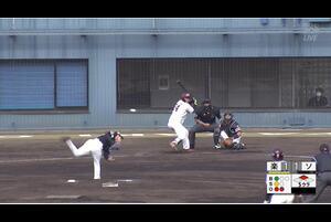 【5回裏】黒川史陽、タイムリーツーベース! 11/26楽天 VS ソフトバンク フェニックスリーグ