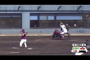 【1回裏】満塁からの押し出し! 11/29 阪神 vs 楽天 フェニックスリーグ