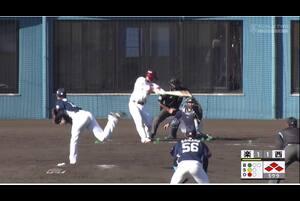 【5回裏】堀内謙伍、楽天の追加点 11/28 楽天 VS 西武 フェニックスリーグ