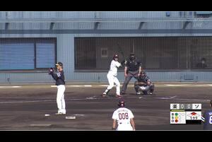 【1回裏】黒川史陽、タイムリーヒット! 11/26楽天 VS ソフトバンク フェニックスリーグ