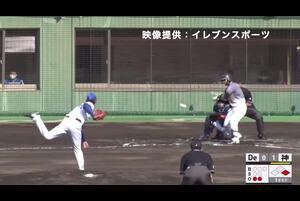 【1回表】坂本誠志郎、ホームラン! 11/26DeNA VS 阪神 フェニックスリーグ