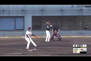 【4回表】三森大貴、タイムリーヒット! 11/26楽天 VS ソフトバンク フェニックスリーグ