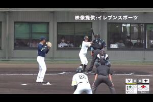 【1回裏】髙田知季、ホームラン! 11/19 ソフトバンク VS ヤクルト フェニックスリーグ