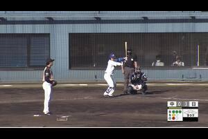 【9回裏】根尾昂、レフトへのヒット! 11/21中日vs日本ハム フェニックスリーグ