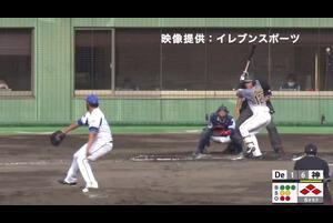 【6回表】小野寺暖、タイムリーヒット! DeNA VS 阪神 フェニックスリーグ