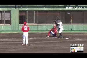 【3回裏】高橋昂也の奪三振! 11/15ロッテvs広島 フェニックスリーグ