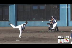 【5回表】山田遥楓のタイムリーツーベース! 11/21ソフトバンクvs西武 フェニックスリーグ