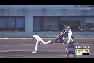 【1回表】北條史也の先制タイムリーヒット! 11/18ヤクルトvs阪神 フェニックスリーグ