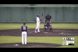 【4回裏】大関の好投、見逃し三振! 11/8巨vsソ フェニックスリーグ