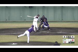 【4回裏】モタ盗塁成功! 11/15巨人vs中日 フェニックスリーグ
