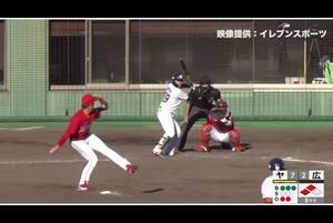 【8回裏】ヤクルト8点目! 11/28 ヤクルト VS 広島 フェニックスリーグ