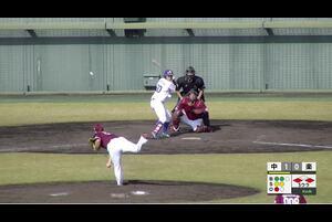 【5回裏】岡林、センターへのタイムリーヒット! 11/12中日vs楽天 フェニックスリーグ
