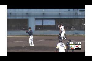 【3回裏】リチャード、2点タイムリーヒット! 11/17ソフトバンク VS ロッテ フェニックスリーグ