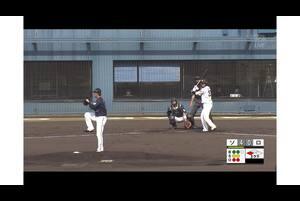 【3回裏】佐藤直樹、タイムリーヒット! 11/17ソフトバンク VS ロッテ フェニックスリーグ
