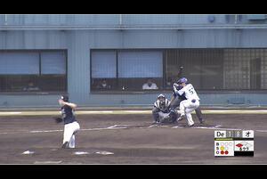 【6回裏】東妻、ライトへのタイムリーヒット! 宮崎アイビー 11/19DeNAvsオリックス フェニックスリーグ