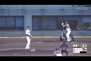 【1回表】井上広大、3ランホームラン! 11/18ヤクルトvs阪神 フェニックスリーグ