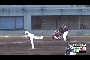 【7回表】小林珠維、タイムリーヒット! 11/26楽天 VS ソフトバンク フェニックスリーグ