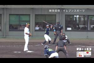 【5回表】山崎晃大朗、タイムリーツーベース! 11/19ソフトバンク VS ヤクルト フェニックスリーグ