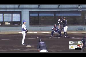 【1回表】山口航輝、先制スリーランHR!  11/27 DeNA VS ロッテ フェニックスリーグ